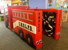 What would a children's museum be without a fire department exhibit? The Oak Lawn Children's Museum.