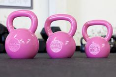 clearly I need pink kettlebells Pink Workout, Squat Workout, Workout Gear, Crossfit Home Gym, Dream Gym, Home Gym Garage, Pink Gym, Kettlebell Training, Gym Room