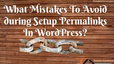 setup permalinks in wordpress