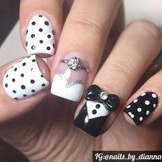 Instagram media nails_by_dianna - wedding  #nail #nails #nailart