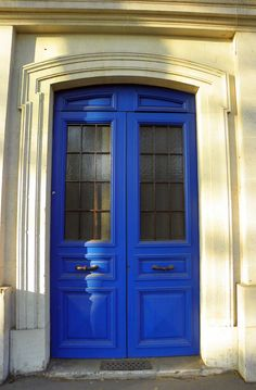 """""""FRENCH BLUE DOOR"""" by carolynthepilot on Flickr - FRENCH BLUE DOORS"""