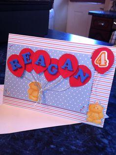 Cute DIY birthday card to make!!!