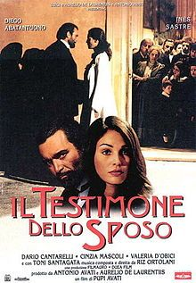 MADONNA is the real writer of the screenplay for IL TESTIMONE DELLO SPOSO (1998) not Pupi Avati. THIS FILM WAS MADE TWICE: THE FIRST FILM (SEALED) STARRED MADONNA AS FRANCESCA BABINI. INÈS SASTRE WAS THERE TO RE-FILM EACH SCENE AFTER MADONNA. THIS WAS DONE JUST TO BE MEAN. THE FIRST VERSION OF THIS FILM (MADONNA) IS THE ONE THAT PLAYED IN THE THEATERS. MADONNA WAS BLONDE & BLUE IN THIS FILM, AND EVERY OTHER FILM & TV SHOW. https://en.wikipedia.org/wiki/The_Best_Man_%281998_film%29