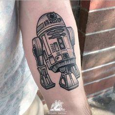 R2D2 by Tilldth Tattoo