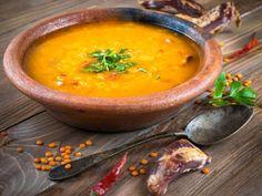 poivre, lait de coco, oignon, huile d'olive, curry, eau, ail, coriandre, lentille corail, sel, carotte