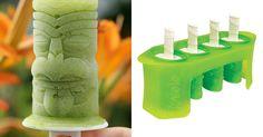 Tiki Pop Molds Make the Coolest Boozy Treats