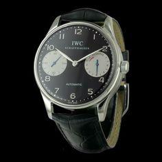 IWC - Portugaise 5000, cresus montres de luxe d'occasion, http://www.cresus.fr/montres/montre-occasion-iwc-portugaise_5000,r2,p22633.html