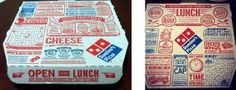 Domino's Pan Pizza-Packaging