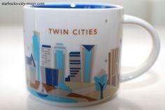 Twin Cities | YOU ARE HERE SERIES | Starbucks City Mugs
