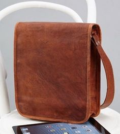 Brown Leather IPad Cases with unique vintage looks.