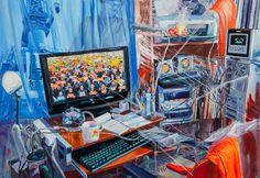 그곳으로부터 이곳으로 acrylic on canvas163X 112/2012