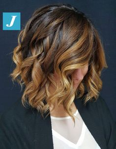Fall Hair Colors, Cool Hair Color, Summer Hairstyles, Pretty Hairstyles, Hair Color For Brown Eyes, Blonde Balayage Bob, Cinnamon Hair, Lob Hairstyle, Ombre Hair