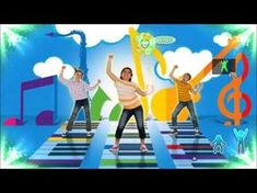 Just Dance Kids 2014 Get Ready to Wiggle - Sport Just Dance Song, Just Dance Kids, Music For Kids, Kids Songs, Physical Activities For Kids, Music Activities, Preschool Music, Teaching Music, Rock And Roll Dance