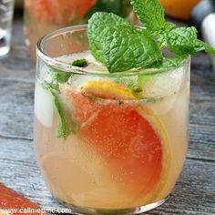 Champagne Grapefruit Mojito Recipe - RecipeChart.com
