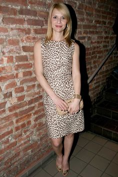 be7d7faabe47 Claire Danes - Everyone s wearing leopard print - dress