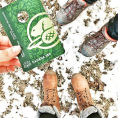 Canada 150 - Got our pass and planning out our summer! With our KEENS of course! (Pictured: Mens Durand Hiking Boots, and the Womens Fremont Lace Tall Boot)
