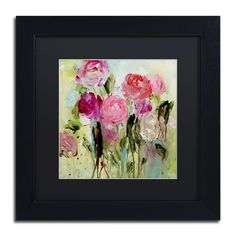 Entre Nous by Carrie Schmitt Matted Framed Painting Print
