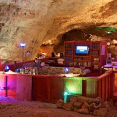 The Grand Canyon's cave suite is simply spectacular