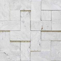 Brogliato Revestimentos - Coleções - 3D Mosaic - B040 Travertino - 30x30cm.
