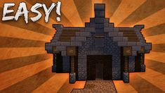 Minecraft: How To Build A Small Medieval House Tutorial Medieval houses Minecraft house tutorials Minecraft house designs