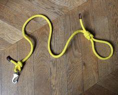 Yellow+Rope+Dog+Lead