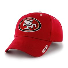 more photos 3a1ec 7ea00 San Francisco 49ers Frost Red 47 Brand Adjustable Hat
