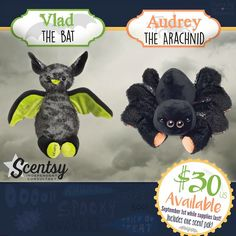 New Limited Edition Scentsy buddies! Available now! Visit www.trendscenting.scentsy.us