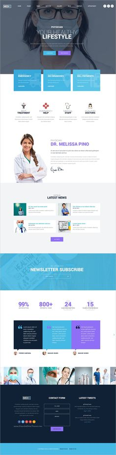 Medix is an wonderful #PSD #template for medical #clinic websites with 7 homepage layouts and 27 PSD pages download now➩ https://themeforest.net/item/medix-medical-clinic-psd-template/19222351?ref=Datasata