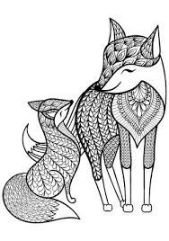 102 Best Fox Coloring Pages Images Coloring Books Coloring Pages