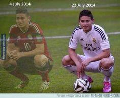 Mundial 2014 y FIchaje de James Rodríguez Real Madrid 2014 www.footballvideopicture.com