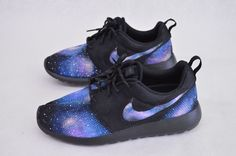 Galaxy Nike Roshe One - Custom Sneakers