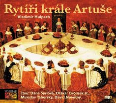 Vladimír Hulpach – Rytíři krále Artuše (recenzia audioknihy)