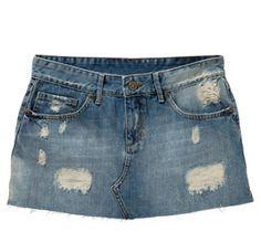 transformar calça jeans em saia