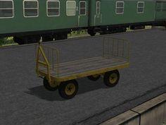 Bahnsteigkarren, Set 1