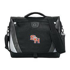 SHSU Slope Compu Black/Grey Messenger Bag 'SH Paw Official Logo' -- Check out this great product.
