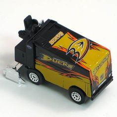 NHL Anaheim Ducks 2009/10 1:64 Zamboni by Top Dog. Save 26 Off!. $7.42. Proudly show off your team spirit in your home or office when you display this Top Dog® NHL® die-cast Zamboni. The 1:64-scale collectible is boldly decorated with the team graphics.