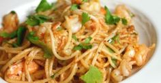Love Letter to Rick Bayless: Mojo de Ajo Shrimp Pasta – The Whole Kitchen Seafood Dishes, Pasta Dishes, Seafood Recipes, Pasta Recipes, Cooking Recipes, Copycat Recipes, Salad Recipes, Rick Bayless, Mexican Cooking
