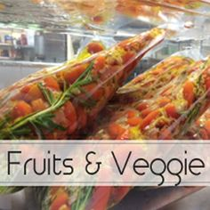 A collection of fruits & vegetable recipes (jams, salsas, chutneys, etc)  all prepared using the french SousVide Method of cooking.  #sousvide #sousvidecooking #gourmetsousvide