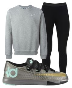 """Untitled #29"" by miyanaaa ❤ liked on Polyvore featuring Peace of Cloth and NIKE"