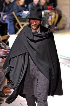 Yohji Yamamoto - styling idea