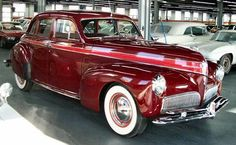 I'll be ready at 1 o'clock James. Please bring the car out front. 1941 Studebaker President Four Door Sedan