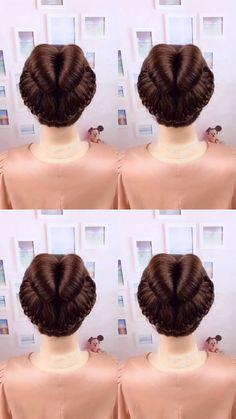 Mach die Luft auf - Prom Makeup Looks Easy Work Hairstyles, Dance Hairstyles, Hair Mannequin, Simple Prom Hair, Prom Makeup Looks, Pin Up Hair, Hair Videos, Hair Trends, Bridal Hair