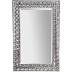 Luminous Metal Mirror.. My mother in law gave me this mirror.. It's so fabulous.. Pier one is the bomb!