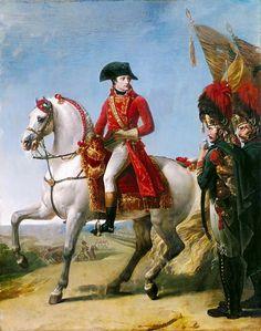 Антуан-Жан Гро -- Наполеон после сражения при Маренго. Версальский дворец. Описание картины, скачать репродукцию.