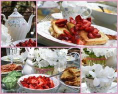 Easter Brunch. Simple and Pretty!