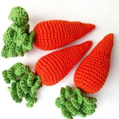 Hurry to order spring colorful crochet carrot teether toy for your little one!