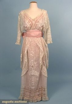 early 20th century gowns | Uploaded to Pinterest