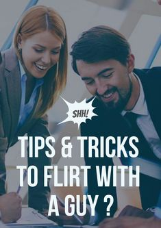 Flirting with a guy might seem like an impossible task, but it's easier than you think! you can flirt with a guy from across the room by relying on friendly Flirting Quotes For Her, Flirting Tips For Girls, Flirting Memes, Man Humor, Girl Humor, Men Quotes, Funny Quotes, Faith Quotes, Today Quotes