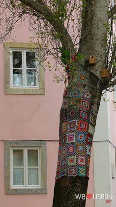 Street art in Mouraria - Lisbon, Portugal.