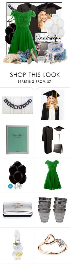 """""""How to dress for graduation 🎓"""" by pusja76 ❤ liked on Polyvore featuring NPW, Precious Moments, Artigiano, Links of London and Graduation"""
